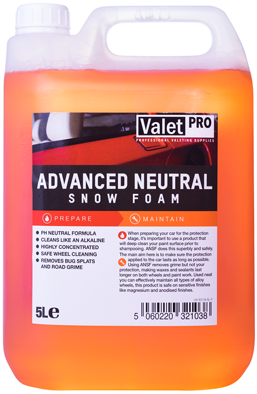 ValetPRO Advanced Neutral Snow Foam -  Pena na umývanie 5L