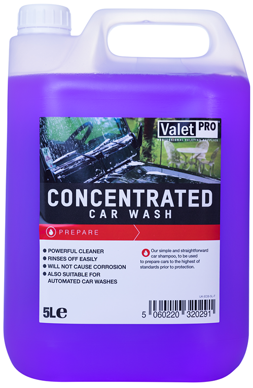 ValetPRO Concentrated Car Wash - Koncentrovaný šampón 5L
