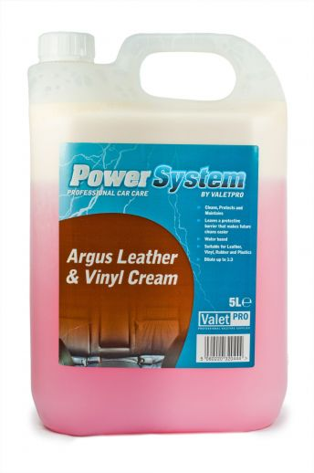 ValetPRO Leather & Vinyl Cream - Krém na kožu a vinyl 5L